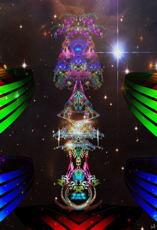 5D2 - GUARDIAN TOTEM PILLAR OF LIGHT by SETH DENNON